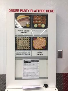 order form costco party platters menu 2019 canada  6 Best Costco Party Ideas images | Food, Food drink ...