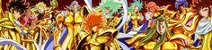 Os doze cavaleiros de ouro de Saint Seiya Omega