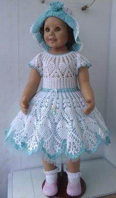 63 super Ideas for crochet skirt pattern kids doll clothes Baby Girl Dresses Diy, Baby Dress Clothes, Crochet Baby Clothes, Crochet Girls, Crochet Baby Shoes, Crochet Baby Dress Pattern, Baby Dress Patterns, Baby Knitting Patterns, Pattern Dress