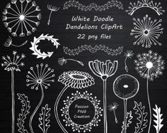 White Doodle Windows Clipart Hand Drawn от PassionPNGcreation