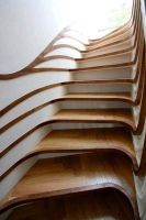 Interior wooden stairs, made of solid oak or beech wood. Solid wood interior stairs made to order according to the requested size and model. Interior Staircase, Exterior Stairs, Modern Staircase, Staircase Design, Stair Design, Tile Stairs, Wooden Stairs, Carpet Stairs, Stair Kits