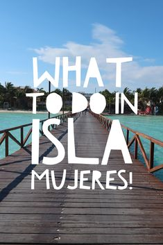 Loved these tips and suggestions on Isla Mujeres! Isla Mujeres | All Inclusive Mexico | Mexico Hotel | Mexico Resort | Mia Reef | Playa Norte