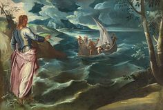 Christ at the Sea of Galilee, c. 1575 - 1580, Tintoretto