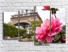 Купить модульную картину романтичный цветок + подарок