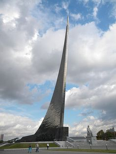 Moscow's Monument to the Conquerors of Space
