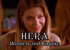 Buffy The Vampire Slayer women as Greek Goddesses Amber Benson, Sarah Michelle Gellar Buffy, All Tv, Spiritual Power, Nerd Love, Great Tv Shows, Joss Whedon, Buffy The Vampire Slayer, Greek Gods