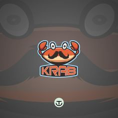Krab logo mascot. If you need logo mascot please contact me at tersenyumlah14@gmail.com