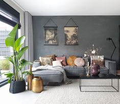 small living room designs are available on our site. Take a look and you will not be sorry you did. Small Living Room Design, Paint Colors For Living Room, Living Room Grey, Home And Living, Living Room Designs, Living Room Decor, Living Room Storage, Living Room Windows, Living Room Inspiration