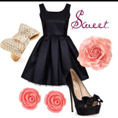 Everyone needs a black dress. And this one is cute