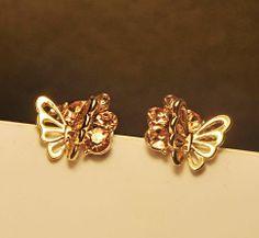 3D Butterfly Rhinestone Earrings | LilyFair Jewelry, $10.99!