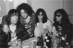 Marc Bolan and The Ramones, 1976