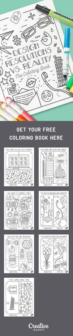 We've put together this hilarious coloring book for designers. It's not exactly a Mandala, but it's guaranteed to put a smile on your face!