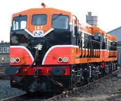 181 class No.187 Trains, Rail Train, Abandoned Train, Diesel Locomotive, Transportation, Irish, Freedom, Around The Worlds, Memories