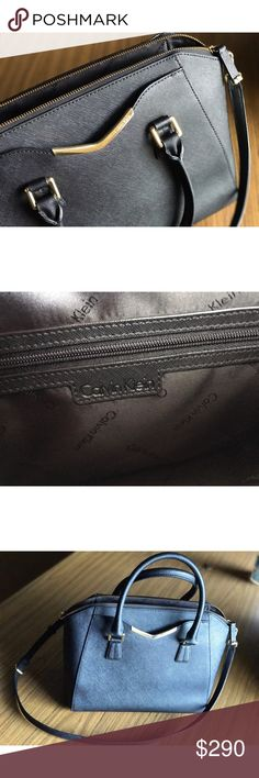 Calvin Klein authentic black purse 👛 *FINAL PRICE*Slightly used Calvin Klein purse in great condition! Calvin Klein Bags Satchels