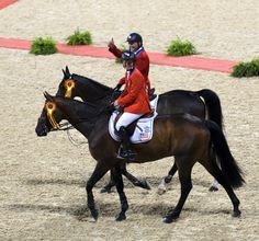 Show jumping Olympic gold medalists, Beezie Madden and Will Simpson - My two favorites! Will Simpson, Rio Olympics 2016, Summer Dream, Rio 2016, Show Jumping, Horse Training, Olympians, Olympic Games, Dressage