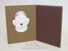 Inside of bunny card.
