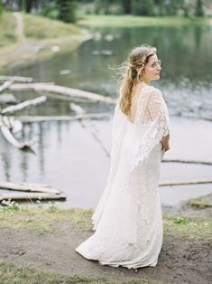 Rainier National Park Elopement by Elope Northwest Mt Rainier National Park, Grace Loves Lace, Elopement Inspiration, Elopements, Lace Flowers, Washington State, Get Dressed, National Parks, Wedding Dresses