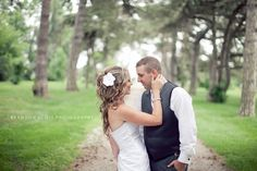 Bride and Groom pose