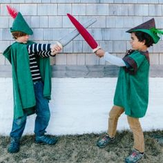 "Wool Felt Sword in gray or red. Foam ""blade"" covered with wool felt and wooden handle. Allows safe and imaginative role-play. $29.95"