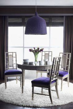 Decoração cor Ultra Violet 2018 Pantone