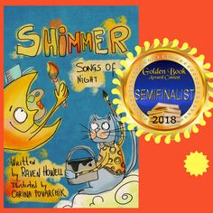 Shimmer, Songs of Night won the Semi-Finalist Golden Box Book award!