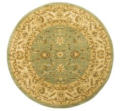 Ziegler 7709 Green Round Circular machine-made rugs made with Polypropylene. Available today as part of our price-match promise. Neutral Colors, Colours, Circular Rugs, Oriental Style, Machine Made Rugs, Rug Making, Wool Rug, Homes, Traditional