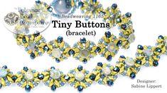 Tiny Buttons Bracelet (Tutorial)