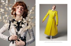 Fashion Editorial – I Married Her Just Because She Looks Like You Naked But Safe Magazine Photography : Stratis Kas Fashion Boss: Manos Samartzis Hair and Make-up : Enzo Volpe Flowers : Yan Skates  Still life of flowers