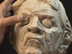 Sculpting The Art Critic by Philippe Faraut  #Sculpture #Sculpting #Art #MakingOf #Creativity  #ArtProcess