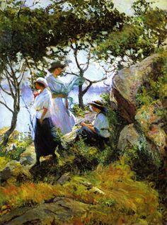 Summer Girls ~   Mary Bradish Titcomb ~ (American 1858-1927)