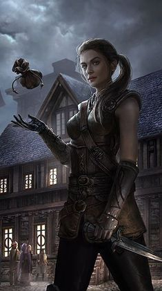 Pin by rowan gate on fantasy artwork - fantasy artwork magic in 2019 Fantasy Girl, Fantasy Warrior, Fantasy Rpg, Medieval Fantasy, Fantasy Artwork, Dark Fantasy, Fantasy Women, Elves Fantasy, Warrior Queen