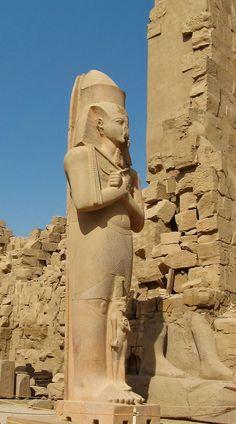 Le Temple de Karnak en Egypt