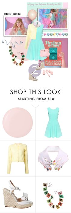 """""""All About That Bass (Happy Polyvore B-Day to Me!)"""" by lydiarts ❤ liked on Polyvore featuring Deborah Lippmann, Marni, VIVETTA, Valentino, Natural Life and Chanel"""