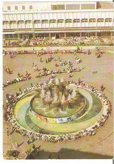 Berlin - Hauptstadt der DDR. Alexanderplatz. von Ansichtskarte - 1981