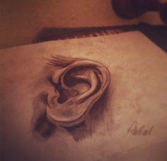 #ear #draw