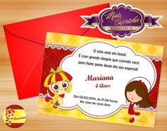 Convite Sítio do Pica Pau Amarelo