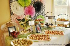 Bridal Shower/ party ideas / recipes