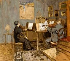 The Concert ~ Édouard Vuillard ~ (French: 1868-1940)