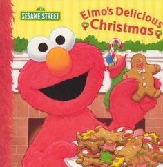 Sesame Street's Elmo Christmas Book for kids