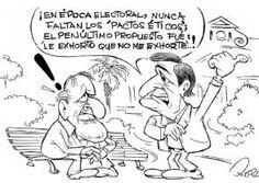 Recogiendo los pasos, caricatura julio 21 2016