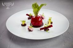 Chicken Liver Parfait with Beetroot
