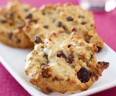 Pour le dessert, préparez des palets aux flocons d'avoine, raisins secs et pépites de chocolat. Vous allez adorer.