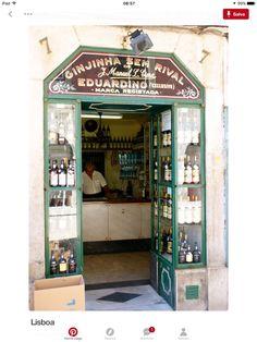 Lisbon - ginja, sour cherry liqueur