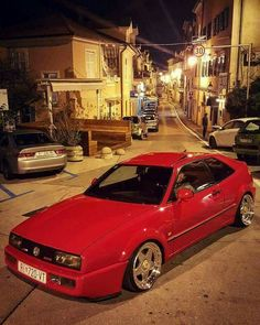 Auto Body Work, Vw Corrado, Car Competitions, Hot Vw, Vw Scirocco, Volkswagen Group, Vw Cars, Car In The World, Dream Garage