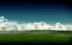 Bihind hills