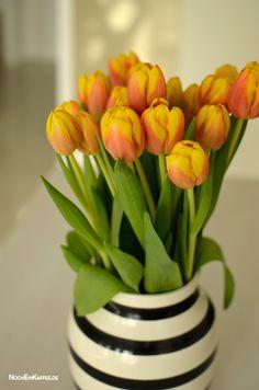 loveandlilies.de // Tulpen in der Kähler Omaggio Vase