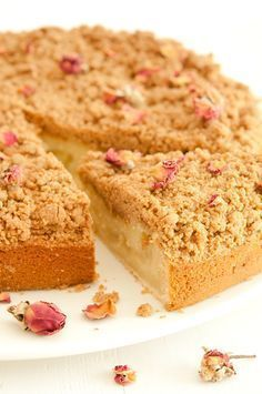My favourite cake Apple Recipes, Sweet Recipes, Baking Recipes, Cake Recipes, Cake Cookies, Cupcake Cakes, Apple Crumble Cake, Apple Crumble Receta, Cinnamon Crumble