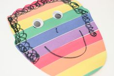Here is a craft to go along with the book, A Bad Case of Stripes.