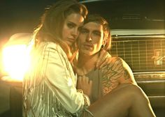 Lana Del Rey and Bradley Soileau from the Born To Die video.