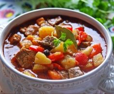 thermomix - zupa gulaszowa Goulash, Pot Roast, Chili, Food And Drink, Cooking Recipes, Ethnic Recipes, Thumbnail Image, Impreza, Party